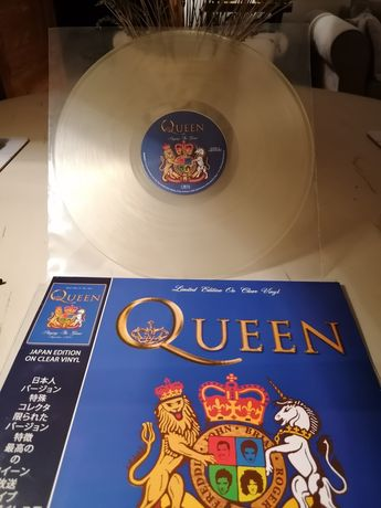 Queen Playing The Game Clear Vinyl NM Limited Edition