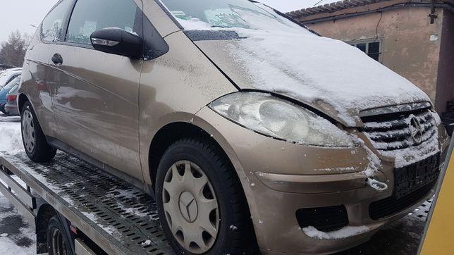 Mercedes A150 rok 2006 przód maska zderzak błotniki lampy