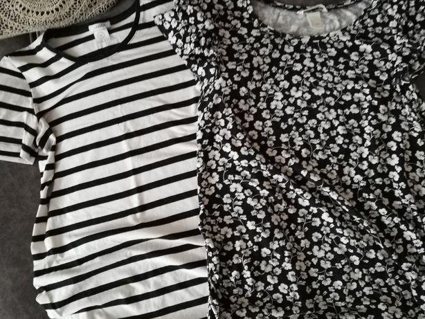 2 bluzki ciążowe rozm. S