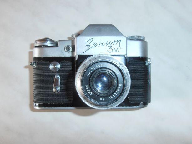 Фотоаппарат Зенит 3М. 1965 г.