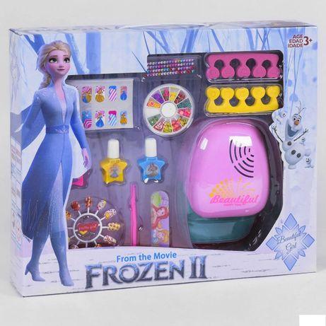 Детская косметика - сушка для ногтей, маникюрный набор, стразы Frozen