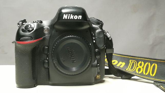 Nikon D800 body Идеальное состояние