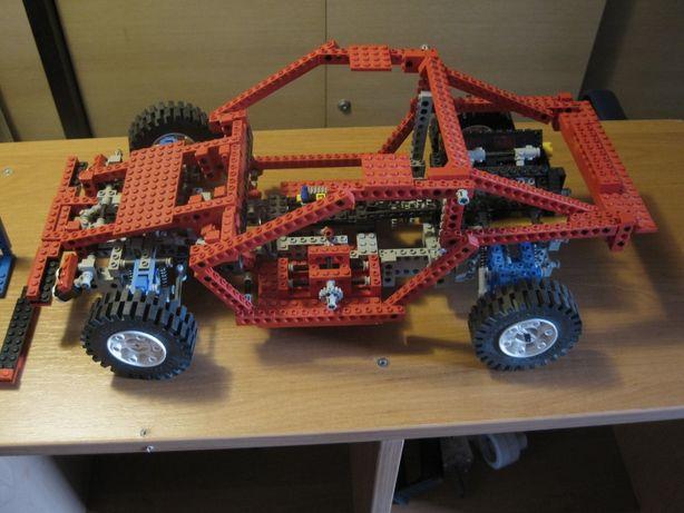 LEGO 8865 Technic Topowy zestaw z 1988r Lego Testcar 8865