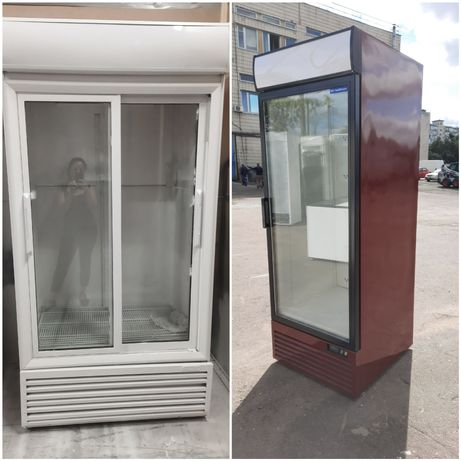 Холодильник БУ для воды пива цветов Одно Двух дверный шкаф холодильный