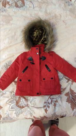 Куртка парка унисекс весна-осень