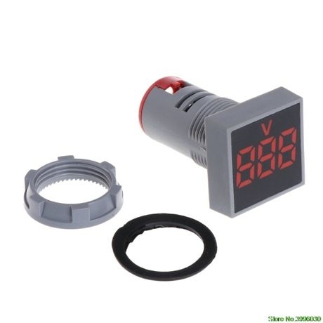 Цифровой вольтметр AC 20-500V