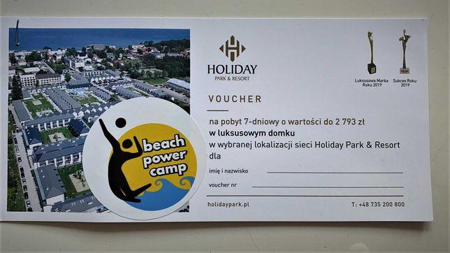 Voucher na pobyt 7-dniowy w domku nad morzem w Holiday Park&Resort