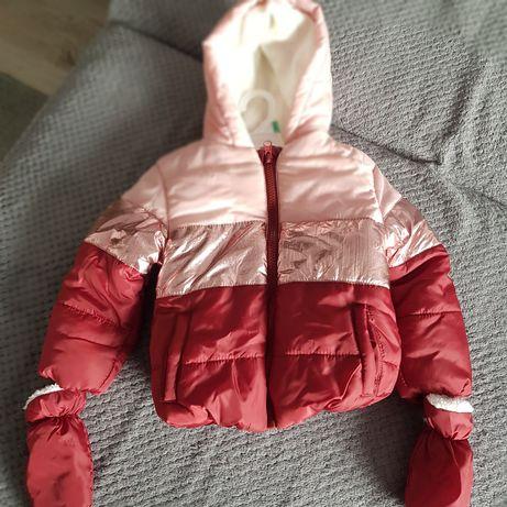 zimowa kurtka dla dziewczynek