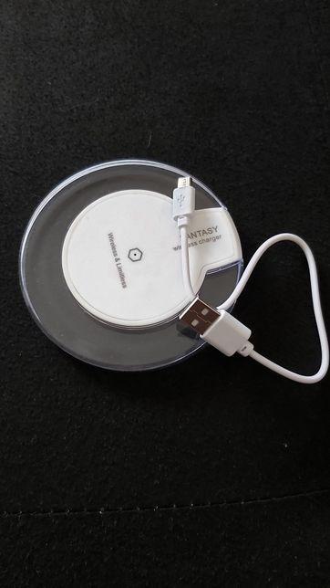 Carregador wireless novo, com cabo de carregamento