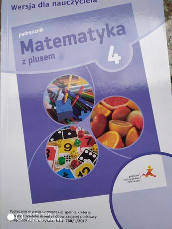 Matematyka z plusem kl 4 książka nauczyciela