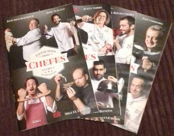 Fetiches dos Chefes - 4 livros de Cozinha