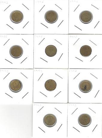 1 Escudo - Latão Niquel 1992 a 1998