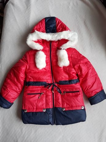 Новогодний ценопад! Распродажа!Куртки зимние для девочки