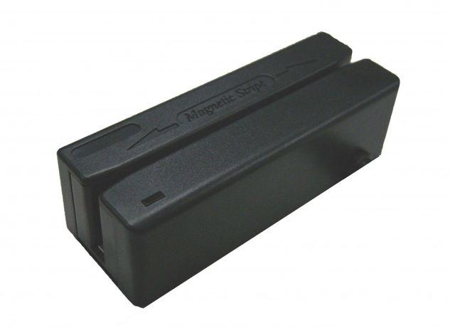 Birch Leitor de Cartões Magnéticos Pistas 1/2/3, USB, Preto - MSR-9123