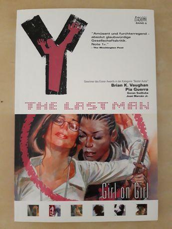 Y THE LAST MAN 6 Girl on Girl (BD)