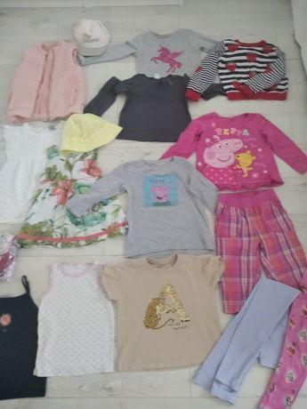 Ubranka dla dziewczynki 110-116.