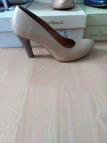 Skórzane buty Szydłowski 37