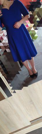 Sukienka wizytowa. Polski projektant mody. Okazja!