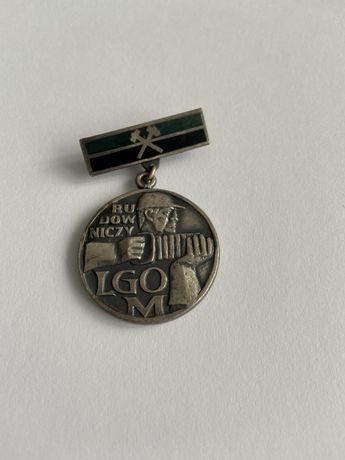 Odznaka Budowniczy LGOM LUBIN