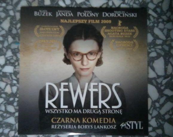 "Film DVD: ""Rewers"" reż. Borys Lankosz"