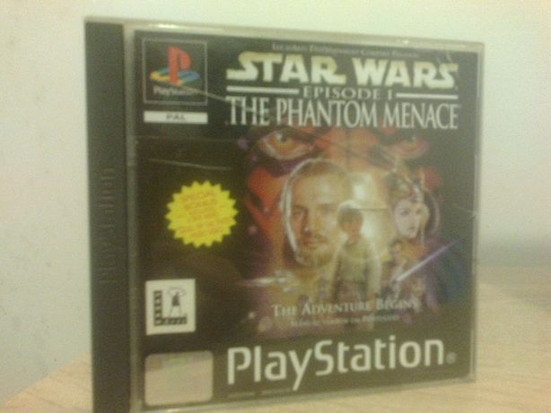 Star Wars: The Phantom Menace PSX PS1