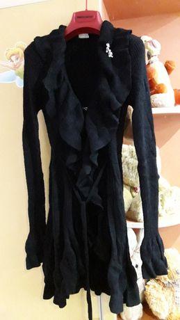 Пальто трикотажное плащ на рост 134-146 Artigli Италия новое
