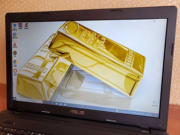 """Ноутбук ASUS с большим экраном 17.3"""". CoRE I3/DDR 6Gb/SSD 120. Магазин"""