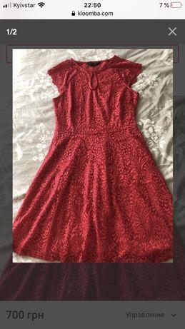 Новое платье next 12 маломерит на 10