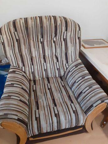 Kanapa sofa rozkładana + 2 fotele
