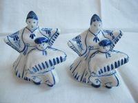 Ceramiczne figurki sygnowane