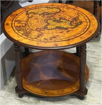 """Журнальный столик """" Карта мира"""" . Столик бар. Стол"""