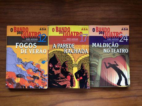 """Livros da coleção """"Bando dos Quatro"""" (12,17 e 24)"""