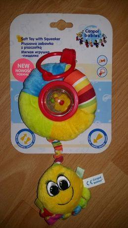 Продам Canpol babies Мягкая игрушка-пищалка и погремушка