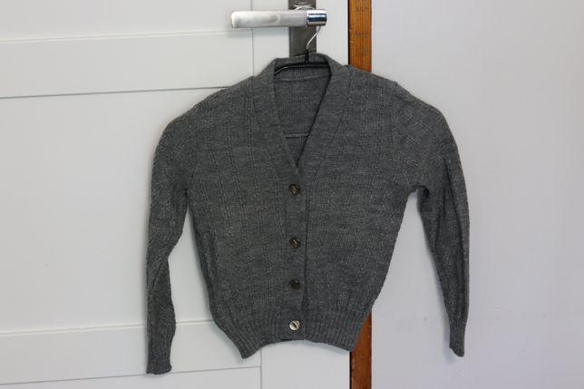 Sweter rozpinany elegancki roz. 110/116