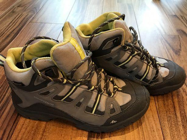Buty dziecięce Decathlon Quechua rozmiar 34
