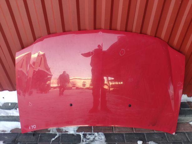 Капот червоний Dacia Logan капот Дача Логан 2004-2008
