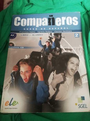 Companeros podręcznik +ćwiczenia do języka hiszpańskiego 2