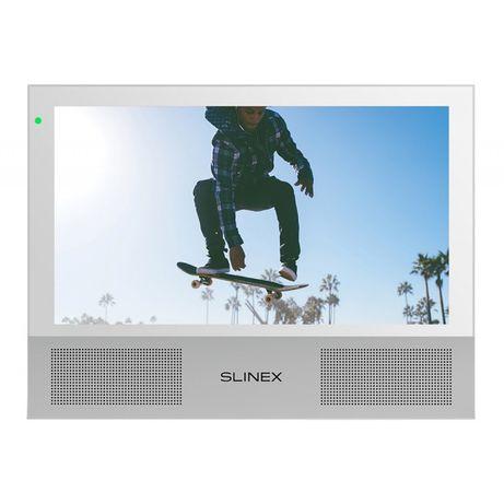 Slinex Sonik 7 White • Цветной ВидеоДомофон для квартиры, часного дома