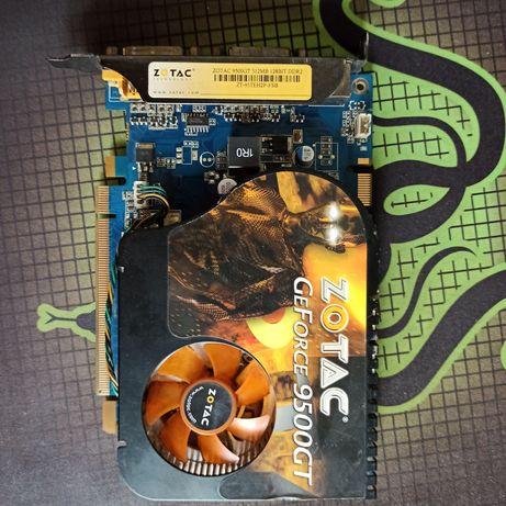видеокарта geforce 9500GT zotac