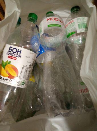 Отдам пластиковые бутылки из воды