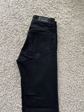 Czarne spodnie Pull&Bear 34