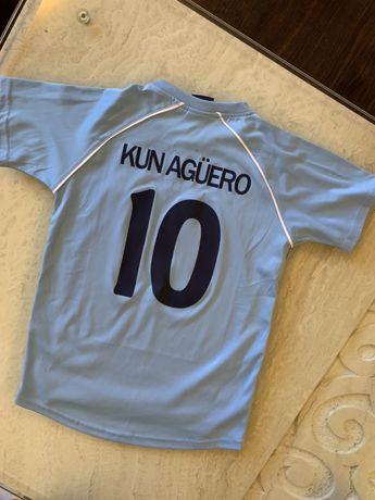 Strój piłkarski Kun Aguero - rozmiar 152