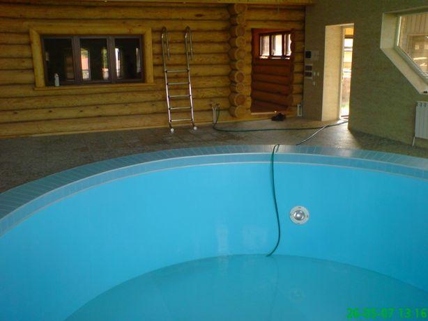 Строительство бассейнов под ключ и емкостей из полипропилена