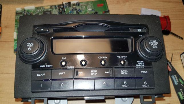 Radio Honda CRV III 09 100% ok