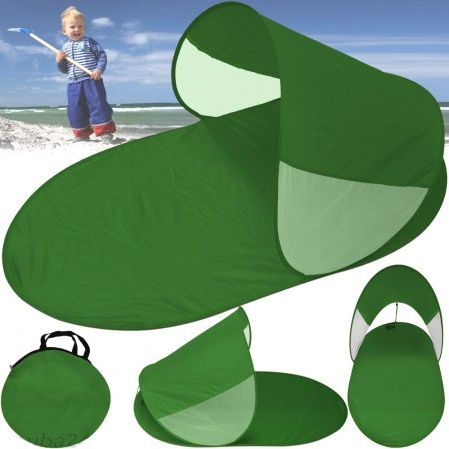Abrigo de Praia Verde novo com saco