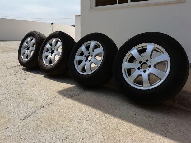 Jantes Mercedes 17 com pneus Michelin 235/65 R17