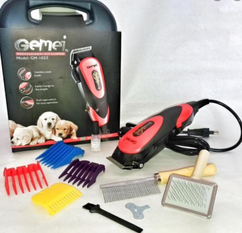 Профессиональная машинка для стрижки Gemei GM-1023 животных