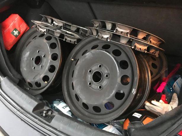VW Seat stalowe felgi 16 cali
