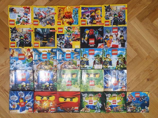 Katalog LEGO 2020, 2019, 2017, 2014, 2013, 2012, 2011, 2010