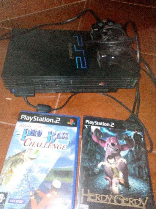 PlayStation2+comando original Paranhos - imagem 1